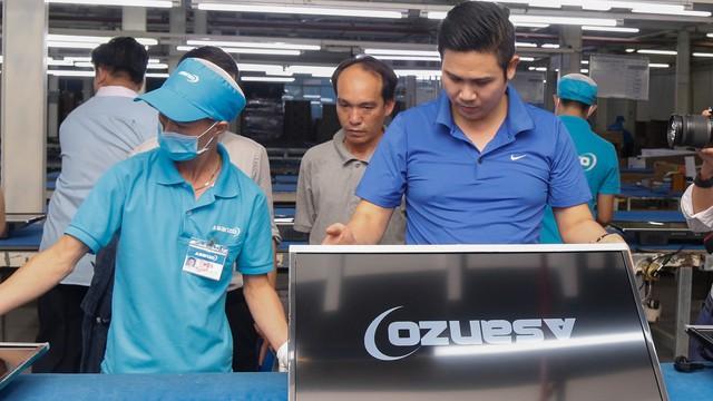 Asanzo đóng băng tài khoản, đại lý ngưng bán hàng sau nghi vấn xuất xứ sản phẩm