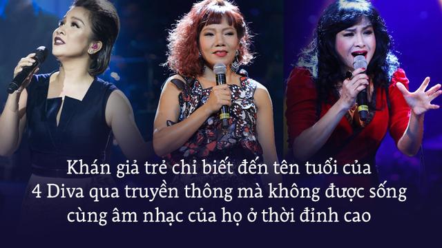 Được gọi là Diva, bộ tứ Thanh Lam, Hồng Nhung, Mỹ Linh, Hà Trần đã làm được gì?