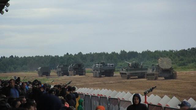 Nhiều khí tài quân sự hiện đại được giới thiệu tại Army-2019
