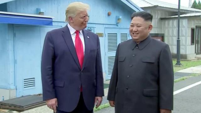 Tổng thống Trump tuyên bố đã đạt được tiến triển với Triều Tiên