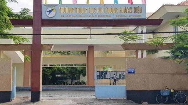 Xôn xao thông tin hạ điểm chuẩn nghi để con Phó Chủ tịch tỉnh Sóc Trăng đỗ vào lớp 10