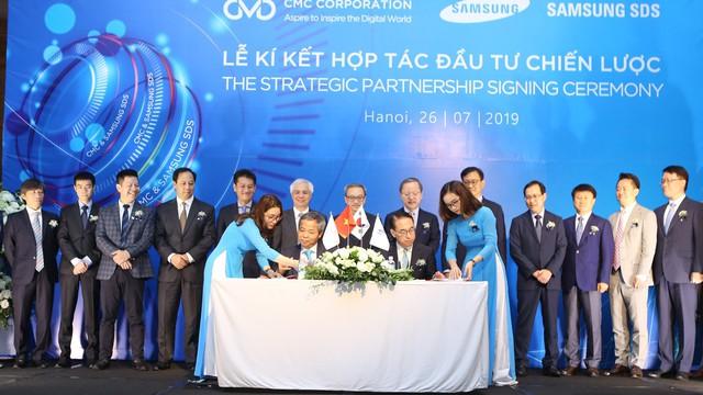 """Chủ tịch CMC Nguyễn Trung Chính: """"Chúng tôi hợp tác chiến lược với Samsung SDS để đi xa hơn"""""""