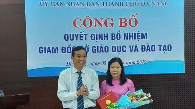 Đà Nẵng có nữ giám đốc Sở Giáo dục và Đào tạo