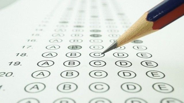 Bài thi THPT quốc gia bất thường đã được lập biên bản từ khi thi