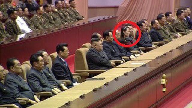 Ngồi ở vị trí đặc biệt, em gái Chủ tịch Kim Jong Un nằm trong nhóm 9 nhân vật quyền lực nhất Triều Tiên?