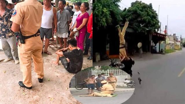 """Khi xem clip con trai đi xe tông CSGT ở Hải Phòng, người cha """"nghĩ con đã chết"""""""