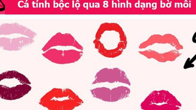 Cá tính bộc lộ qua 8 hình dạng đôi môi: Số 6 có sáng tạo đến mức lập dị