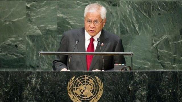 Cựu ngoại trưởng Philippines: Đã đến lúc đưa vấn đề biển Đông ra LHQ để buộc TQ tuân thủ phán quyết của tòa
