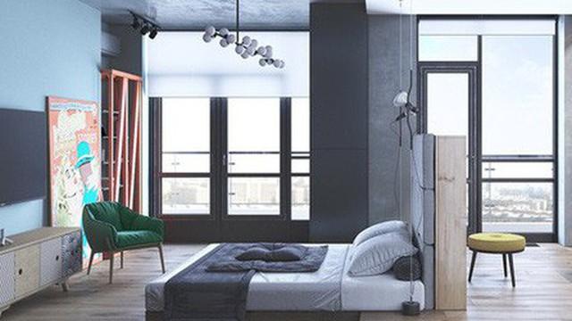 Phòng ngủ đẹp như tranh dành cho các cô gái