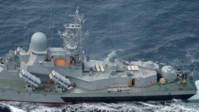 """Hạm đội tàu chiến Nga nhỏ """"nhưng có võ to"""" khiến Hải quân Mỹ phải kiêng nể"""