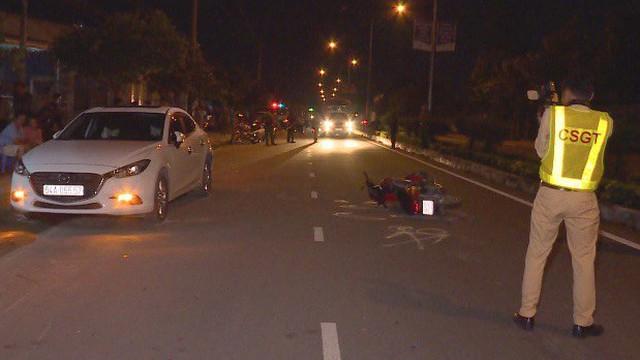 Va chạm với ô tô Mazda3 trên quốc lộ 53, người đàn ông đi xe máy tử vong