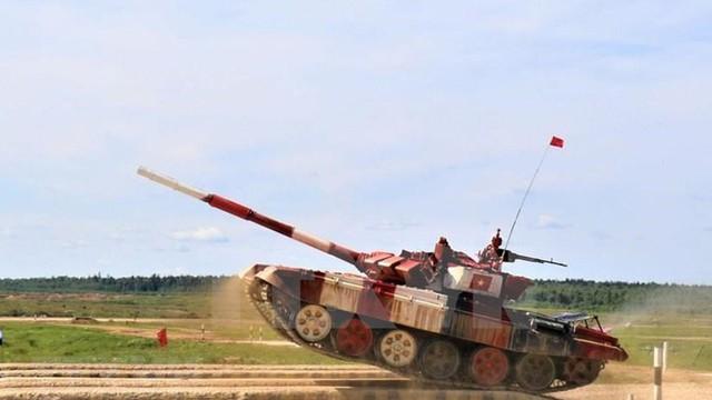 """Không thể """"cướp"""" chức vô địch của Nga ở chung kết siêu hạng Tank Biathlon 2019, các đối thủ """"tâm phục khẩu phục"""""""