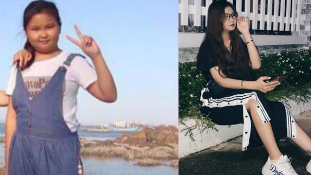 14 tuổi nặng 70 kg, cô gái buồn phiền vì bị nhạo báng và sự thay đổi quá ngoạn mục