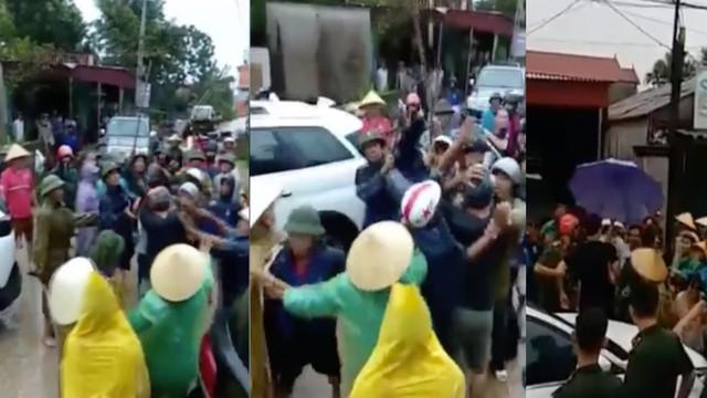 Vụ nhóm thanh niên xăm trổ đi trên 7 xe ô tô phá cổng làng: Đã xác định được kẻ chủ mưu