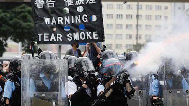 CNN: Cảnh sát Hong Kong dùng vũ khí và hơi cay của Mỹ để đối phó với biểu tình?