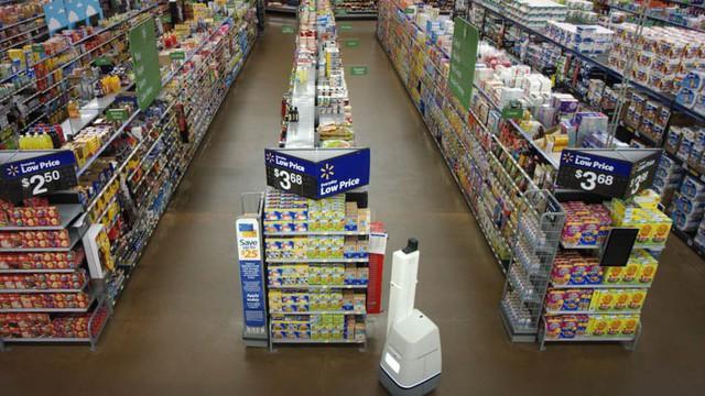 """Đội quân robot của Walmart đã """"xuất hiện"""", bạn hãy làm quen dần với chúng đi là vừa"""
