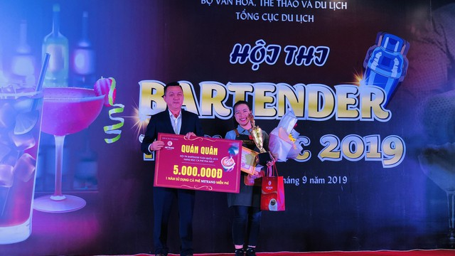 Ngôi quán quân Bartender 2019 đã có chủ