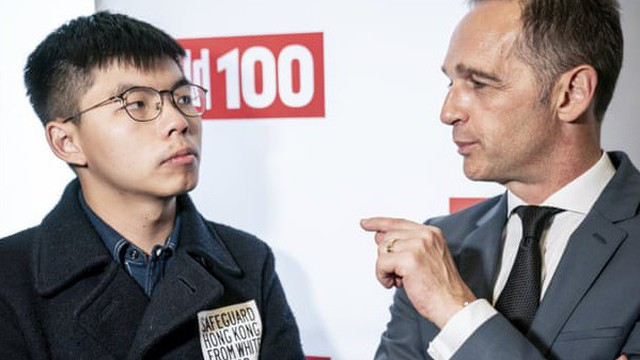 Joshua Wong gặp Ngoại trưởng Đức, Bắc Kinh chỉ trích gay gắt