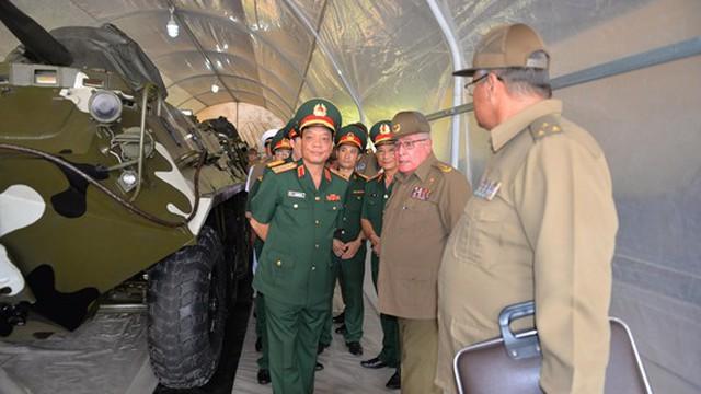 Nghiên cứu ứng dụng công nghệ mới vào niêm cất, bảo quản xe tăng, thiết giáp