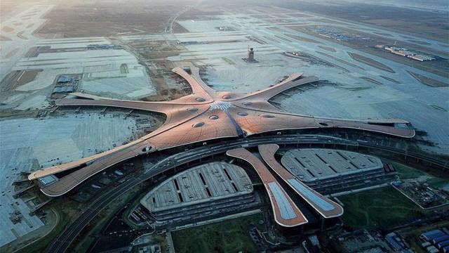 'Thiên đường công nghệ' bên trong sân bay 'Sao biển' mới mở cửa của Trung Quốc