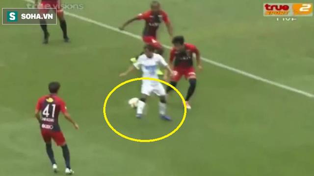 """""""Messi Thái"""" giật gót kiến tạo điệu nghệ giúp đồng đội ghi bàn"""
