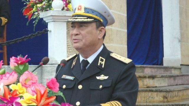 Thủ tướng kỷ luật xóa tư cách nguyên Tư lệnh Hải quân của Đô đốc Nguyễn Văn Hiến