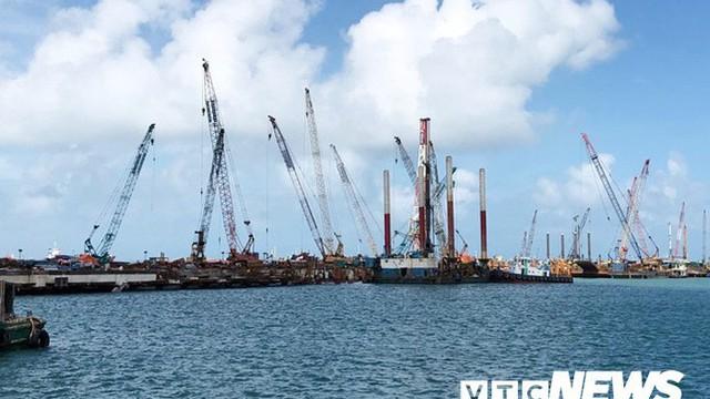 Cho phép Hòa Phát Dung Quất nhận chìm hơn 15,3 triệu m3 vật chất xuống biển Quảng Ngãi