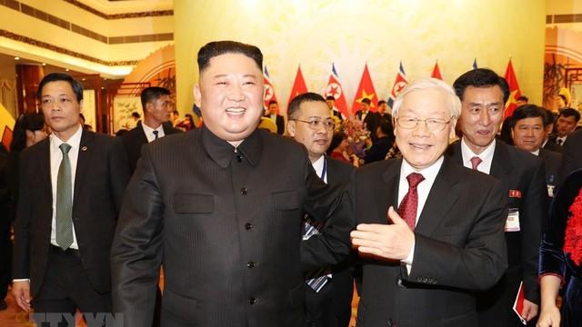 KCNA: Chủ tịch Triều Tiên hy vọng đưa quan hệ với Việt Nam lên tầm cao