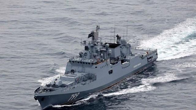 Tàu chiến nào của Nga vừa trở về quân cảng Sevastopol từ lãnh hải Syria?
