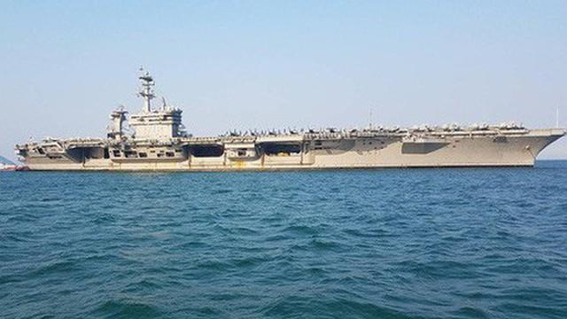 Mỹ muốn đưa tàu sân bay đến Việt Nam nhiều hơn