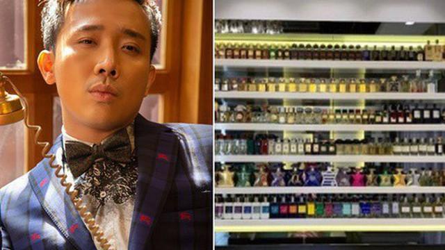 """BST nước hoa """"khủng"""" ít ai biết của Trấn Thành: Trên dưới 200 chai, lọ đắt nhất có giá lên tới 40 triệu"""