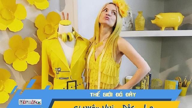 Video: Cô gái ánh dương, suốt 7 năm chỉ mặc màu vàng