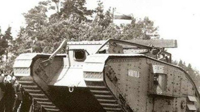 Điểm danh những chiếc xe tăng mạnh nhất Thế chiến I