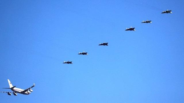 Nửa phi đội Su-57 Nga hộ tống ông Putin trước cuộc gặp Ngoại trưởng Mỹ