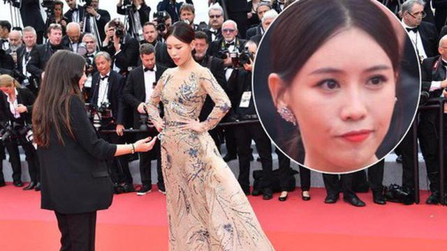 """Mỹ nhân khiến Cbiz ê chề trong ngày đầu Cannes: Bị đuổi khỏi thảm đỏ vẫn """"giả ngơ"""", hoá ra từng đóng """"Diên Hi Công Lược"""""""
