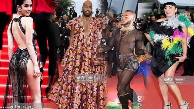 Những bộ cánh 'mặc như không' phản cảm nhất tại Liên hoan phim Cannes lần thứ 72