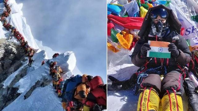 """""""Tắc đường"""" ở Everest: Ký ức kinh hoàng đầy ám ảnh của cô gái trở về từ cõi chết và những mặt tối đáng sợ bị bóc trần"""