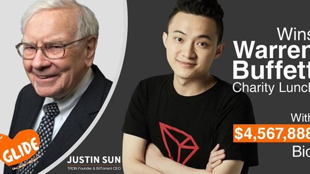 Doanh nhân bitcoin Trung Quốc chi 4 triệu đô ăn trưa với W.Buffett