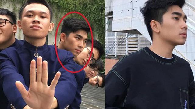 Nhóm bạn đăng ảnh khoe pose dáng độc đáo, thế nhưng cư dân mạng chỉ tập trung ánh nhìn vào trai đẹp này