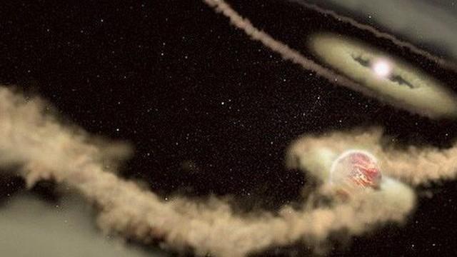 """Sự ra đời kỳ lạ của hành tinh mang """"thế giới thứ hai"""""""