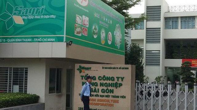 """Điểm danh nguyên 12 """"sếp"""" Tổng Công ty Nông nghiệp Sài Gòn dính sai phạm"""