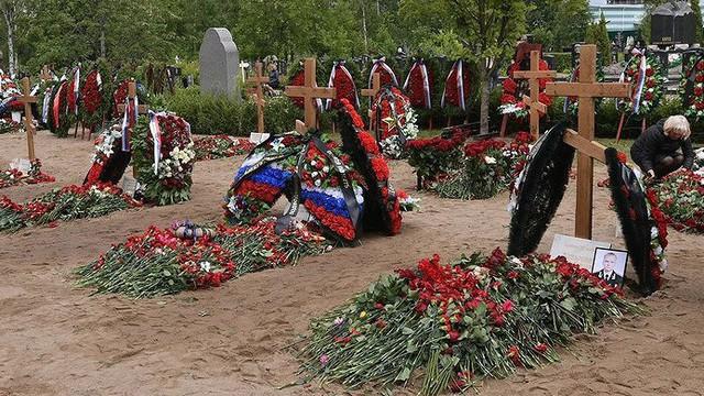 Hé lộ vị trí chôn cất đặc biệt của 14 thủy thủ tàu ngầm Nga
