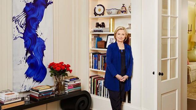 Hình ảnh hiếm hoi về ngôi nhà triệu USD của bà Hillary Clinton ở thủ đô Washington