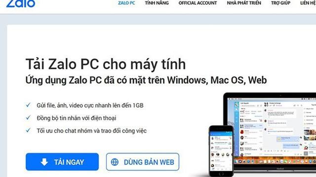 """Zalo """"thoát hiểm"""" thu hồi tên miền, xin giấy phép mạng xã hội để hoạt động"""