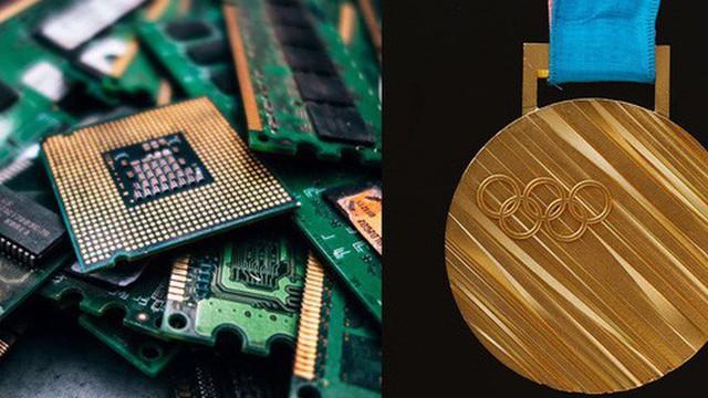 Lần đầu tiên trên thế giới: Huy chương Olympic 2020 sẽ được tái chế hết từ 80.000 tấn đồ tiện tử