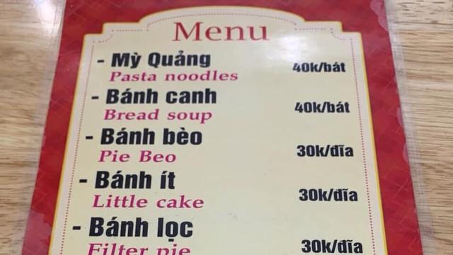 """Quán ăn siêu hài hước khi nhờ chị Google dịch menu từ Việt sang Anh, chấp hết mọi trình độ hiểu """"nem is gone"""" là món gì!"""