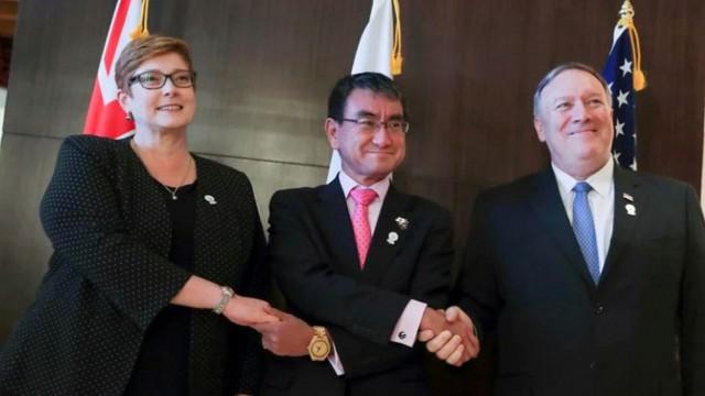 Australia-Mỹ-Nhật cùng lên án hành vi cản trở khai thác dầu khí ở Biển Đông