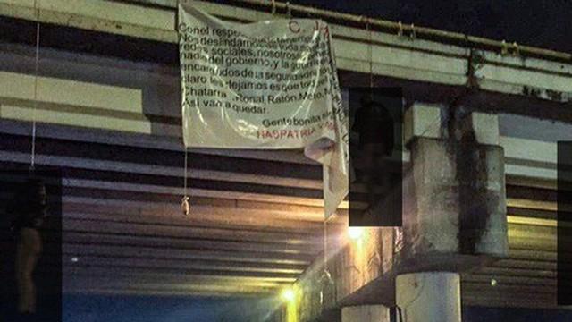 Băng đảng ma túy thanh toán nhau, 19 thi thể bị treo trên cầu