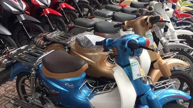 Xe máy nhái kiểu dáng tái xuất