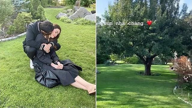 Hồ Ngọc Hà tung ảnh nhõng nhẽo bạn trai Kim Lý khiến fan 'lụi tim'